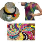 Clutches, Hats, Dresses