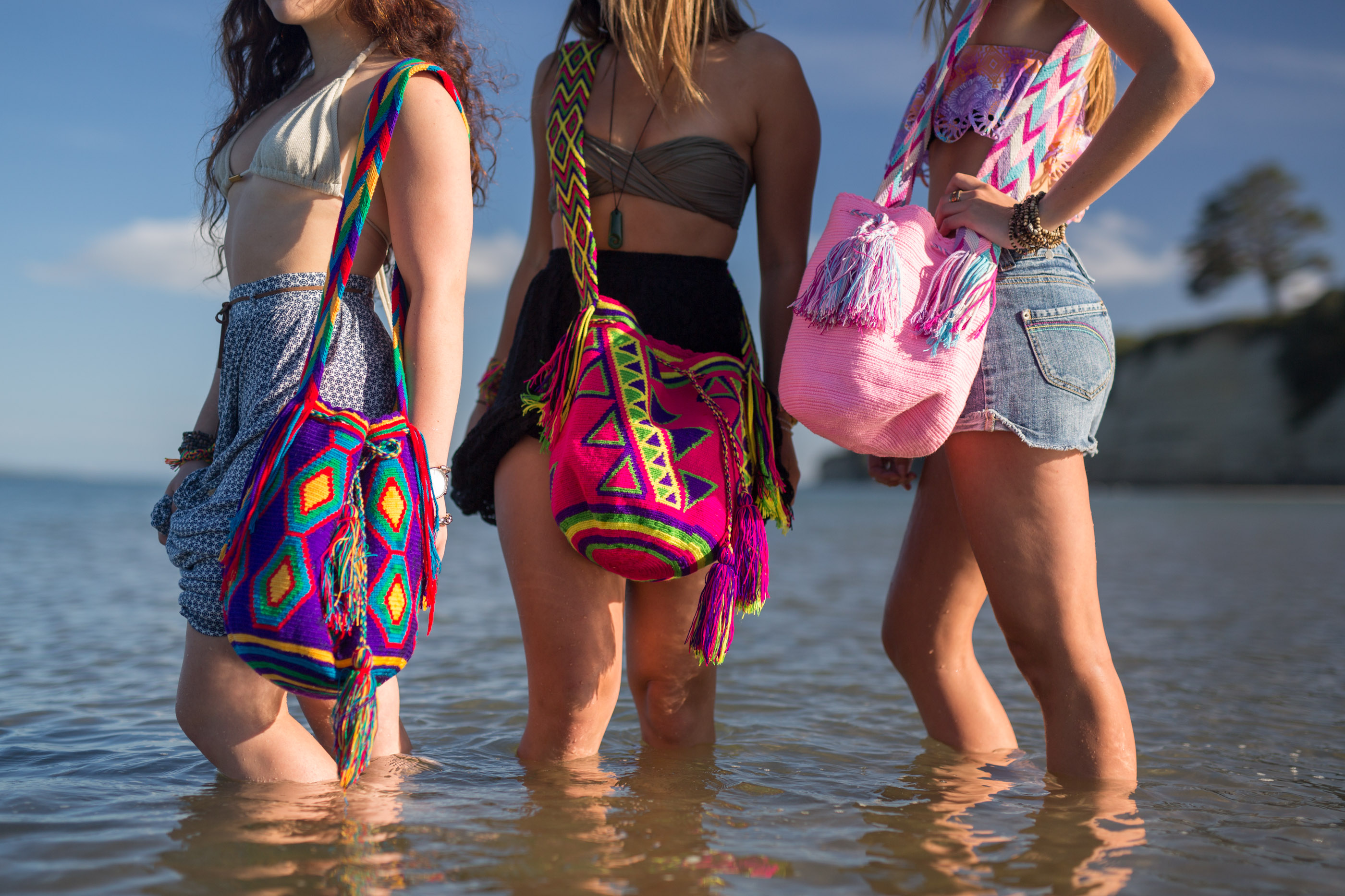 Mochila Bags Authentic Wayuu Bags from La Guajira Colombia