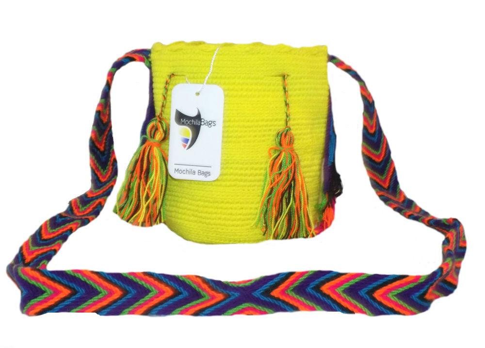 Plain wayuu bag