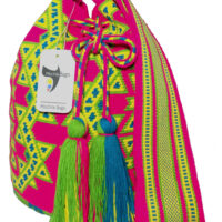 Large Wayuu Bag Single thread
