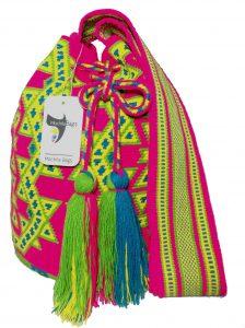Large Wayuu Bag Single thread