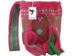 Single thread wayuu bag