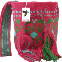 Single thread wayuu bag