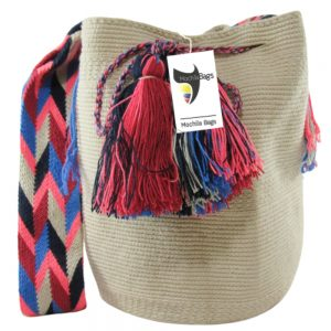 White Wayuu Bag