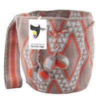Mochila Bags Wayuu Single Thread Medium