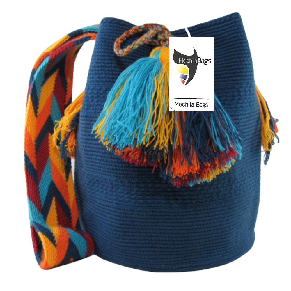 Blue Large Wayuu