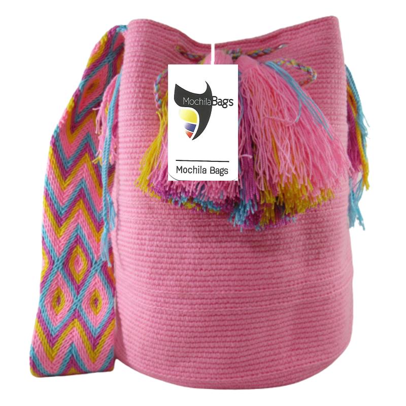 Pink Mochila Bag