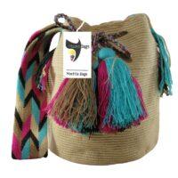 Beige Unicolor Wayuu